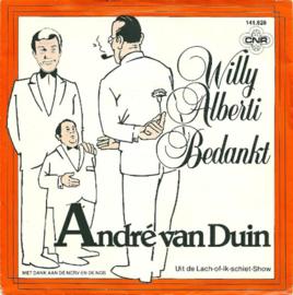 André van Duin - Willy Alberti bedankt