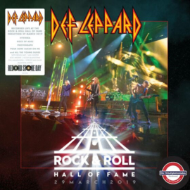Def Leppard - Rock & roll Hall of fame 29 march 2019