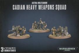 Warhammer 40,000 - Astra Militarium - Cadian Heavy Weapons Squad