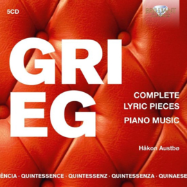 Grieg - Complete lyric pieces, piano music
