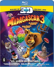 Madagascar 3 (Blu-ray 3D, Blu-ray + DVD)
