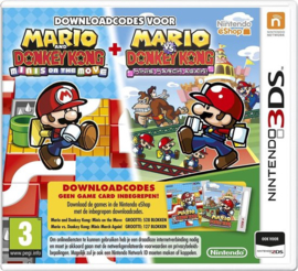 Mario and Donkey Kong: Mini's on the move + Mario vs Donkey Kong: Mini's march again!
