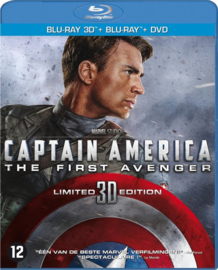 Captain America the first avenger (DVD + Blu-ray + 3D Blu-ray)
