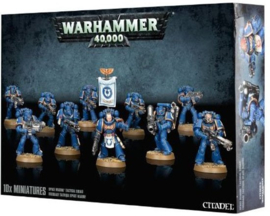Warhammer 40,000 - Adeptus astartes - Space Marine tactical squad