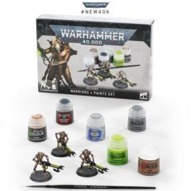 Warhammer 40,000 - Necrons - Warriors + paints set