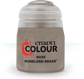 Citadel Base Runelord brass