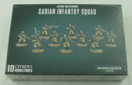 Warhammer 40,000 - Astra Militarium - Cadian Infantry Squad