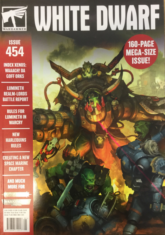 White dwarf magazine issue 454