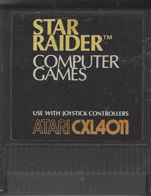 Atari 800 Star Raiders (CXL4011)
