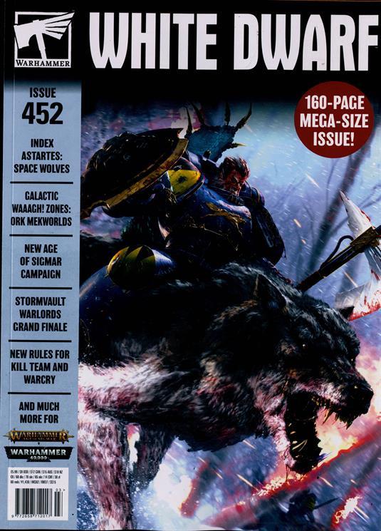 White dwarf magazine issue 452