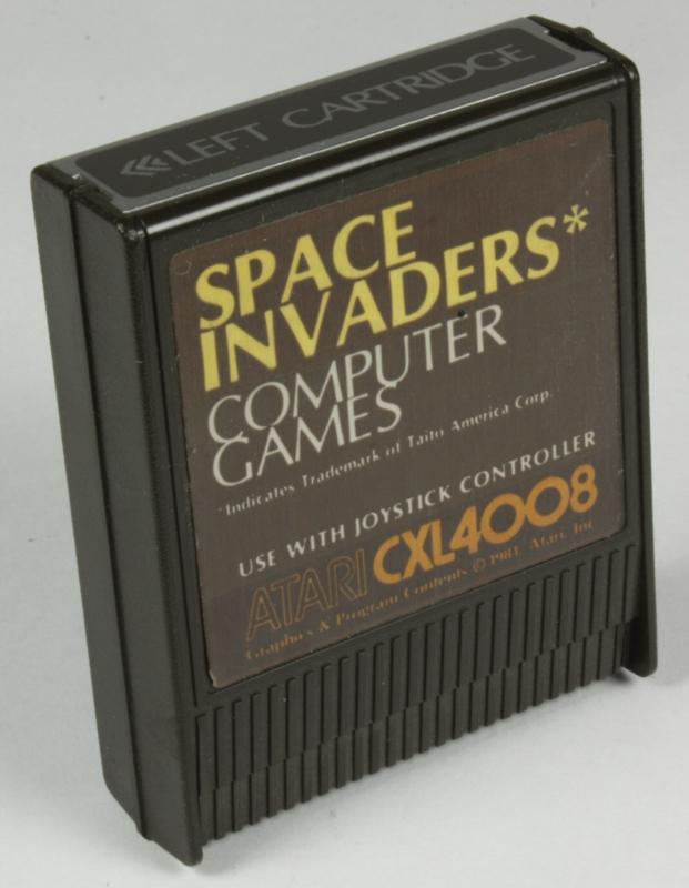 Atari 800 Space invaders (CXL4008)