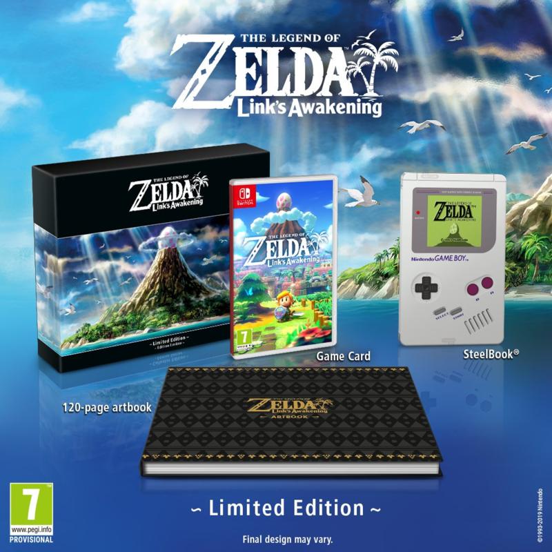The Legend of Zelda - Link's awakening (limited edition)