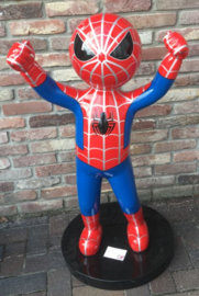 spiderman winnaar , held  beeld