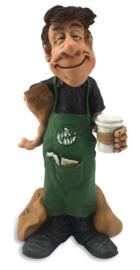 Barista de koffiemaker