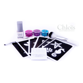 Chloïs Tryout Glittertattooset Girl