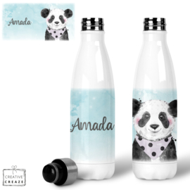 Thermosfles RVS Panda- 500 ml - Warm en koud - €24,99