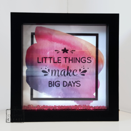 3D kader Little things ...