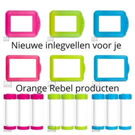 Inlegvellen Orange Rebel