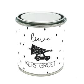 Cadeaublik - Lieve Kerstgroet - 250 ml