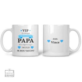 Mok Papa VIP met naam