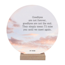Wooncirkel | Goodbyes are not forever