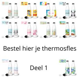 Bestel hier je thermosfles RVS - Deel 1
