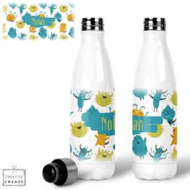 Thermosfles RVS Lieve monstertjes - 500 ml - Warm en koud - €24,99
