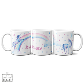 Mok Unicorns met naam