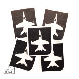 Sjabloon -  straaljager