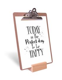 Klembord, poster en staander | Begin de dag met een dansje ...
