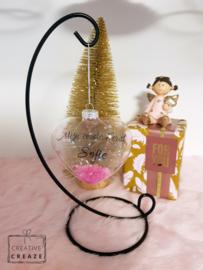 Kerstbal 'Mijn eerste kerst' - meisjes en jongens