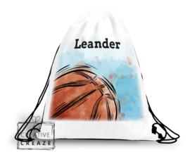Turn- of zwemzak met naam | Basketbal