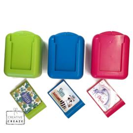 Koekendoosje of snackbox met naam | Panda