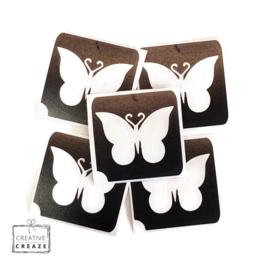 Sjabloon -  vlinder