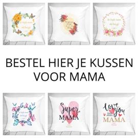 Bestel hier je kussen voor mama - verschillende designs