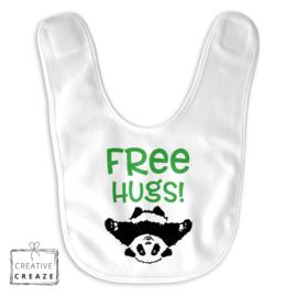 Slabbetje 'Free Hugs'