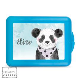 Lunchbox of brooddoos met naam | Panda | €15,95