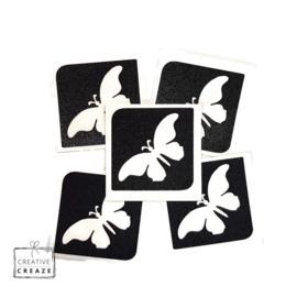 Sjabloon midi - vlinder