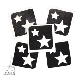 Sjabloon midi - stars