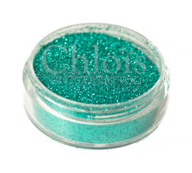 Chlois Glitter Deep Green 5 ml - Zee groen