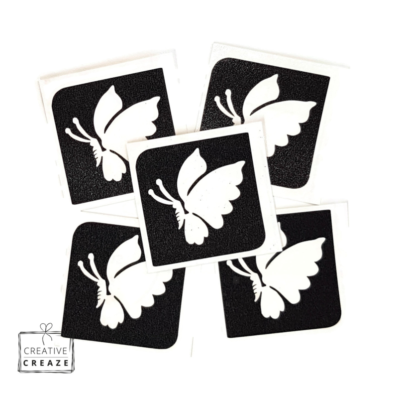 Sjabloon midi - vlinder 2