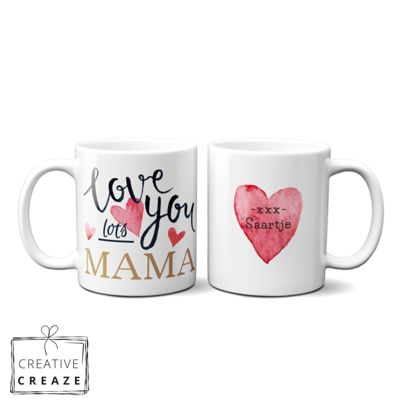Mok Love You Lots Mama