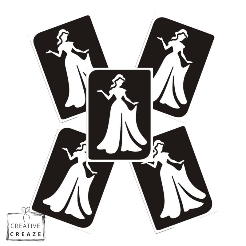 Sjabloon -  Prinses 2