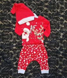 Santa & Reindeer Set