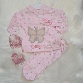 Babygirl Butterfly BirthSet