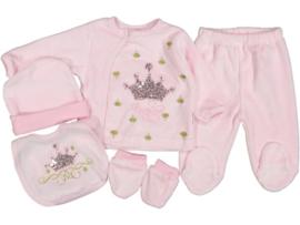 5-Delige Newborn Princess Set