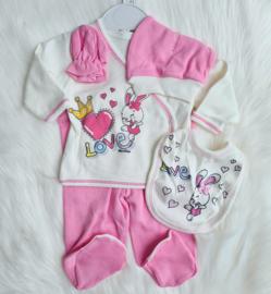 5- Delig Newborn Crown Bunny