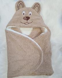 Fluffy Wikkel Bear Deken