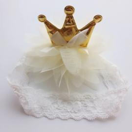 Luxe Baby Golden Crown Haarband