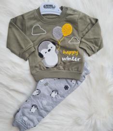 Happy Winter Pinguin Jogger